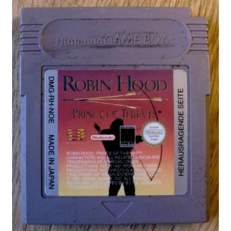 Game Boy: Robin Hood - Prince of Thieves (cartridge)