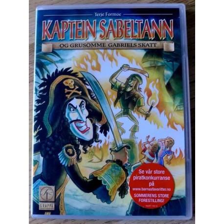 Kaptein Sabeltann og Grusomme Gabriels skatt (DVD)