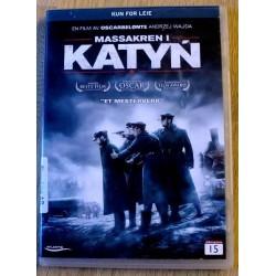 Massakren i Katyn (DVD)