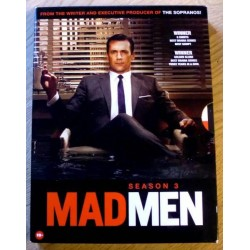 Mad Men: Sesong 3 (DVD)