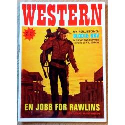 Western: 1969 - Nr. 13 - En jobb for Rawlins