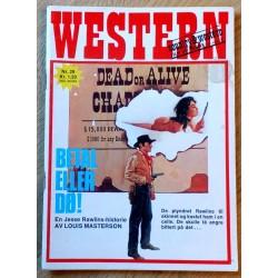 Western: 1970 - Nr. 29 - Betal eller dø!
