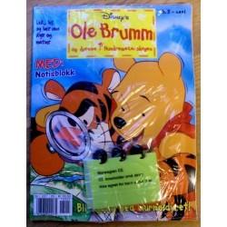 Ole Brumm og dyrene i Hundremeterskogen: 2001 - Nr. 5 - Innplastet med leke