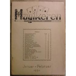 Magikeren: 1951 - Januar/februar - Nordisk fagblad for magikere