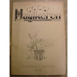 Magikeren: 1952 - November/desember - Nordisk fagblad for magikere