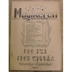 Magikeren: 1950 - November/desember - Nordisk fagblad for magikere