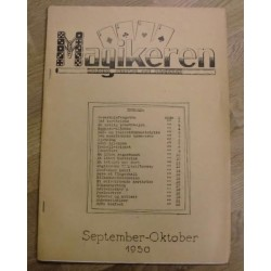 Magikeren: 1950 - September/oktober - Nordisk fagblad for magikere