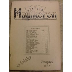 Magikeren: 1950 - August - Nordisk fagblad for magikere