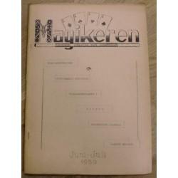 Magikeren: 1950 - Juni/juli - Nordisk fagblad for magikere