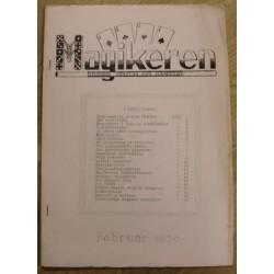 Magikeren: 1950 - Februar - Nordisk fagblad for magikere