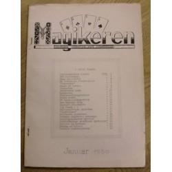 Magikeren: 1950 - Januar - Nordisk fagblad for magikere