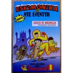 Eskimonika på nye eventyr: Sirkus på Nordpolen