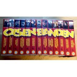 Olsenbanden - Komplett på VHS med 14 filmer