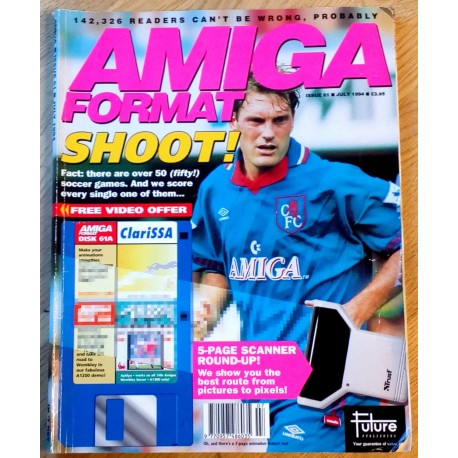 Amiga Format: 1994 - July - Shoot!
