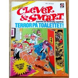 Clever & Smart: Nr. 5 - Terror på toalettet!