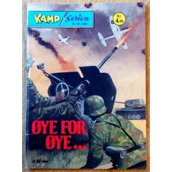 Kamp-Serien: 1981 - Nr. 37 - Øye for øye...