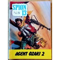Spion 13: 1982 - Nr. 5 - Agent Ozaki 2