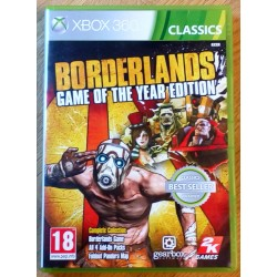 Xbox 360: Borderlands Game of the Year Edition (2k Games)