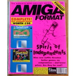 Amiga Format: 1993 - October - Never mind the consoles