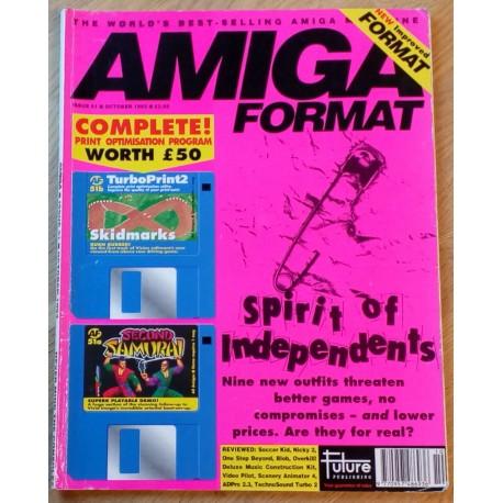 Amiga Format: 1993 - October - Never mind the consoles