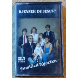 Familien Knotten: Kjenner du Jesus? (kassett)