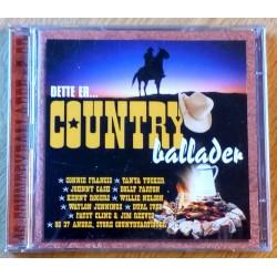 Dette er... Country Ballader (CD)