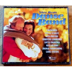 Våre Beste Danseband - 4 CD-er med musikk (CD)