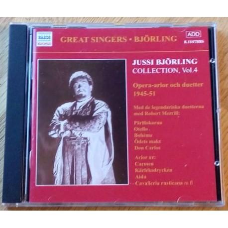 Jussi Björling Collection Vol. 4 - Opera-arior och duetter 1945-51 (CD)