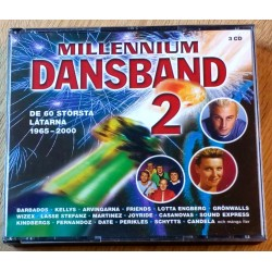 Millennium Dansband 2 - De 60 största låtarna 1965-2000 (CD)