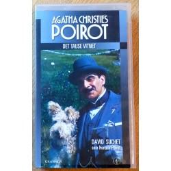 Poirot: Det tause vitnet (VHS)