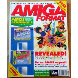 Amiga Format: 1993 - January - Santastic Lemmings too!