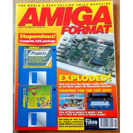 Amiga Format: 1993 - February - Open Art Surgery