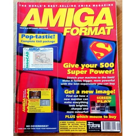 Amiga Format: 1992 - September - It's super, man!