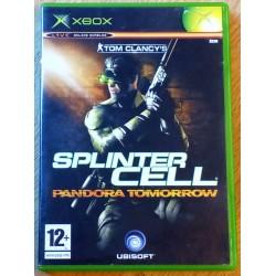 Xbox: Tom Clancy's Splinter Cell - Pandora Tomorrow (Ubisoft)