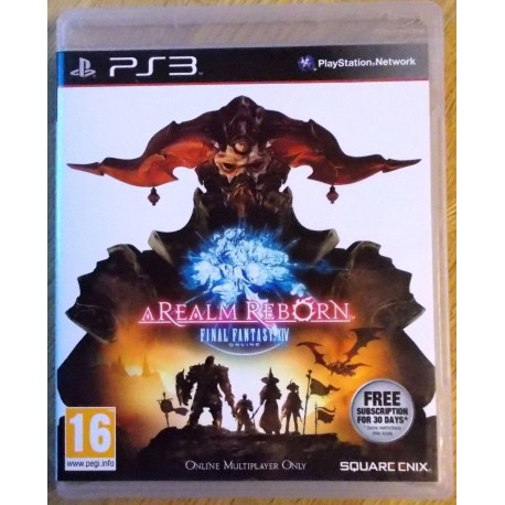 Playstation 3: A Realm Reborn - Final Fantasy XIV (Square Enix)