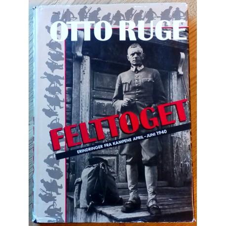 Felttoget: Erindringer fra kampene April - Juni 1940
