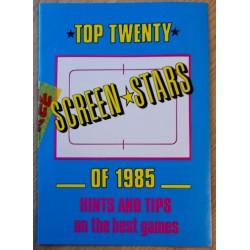 Top Twenty Screen Stars of 1985