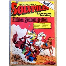 Sølvpilen: 1981 - Nr. 9 - Flukten gjennom grotten