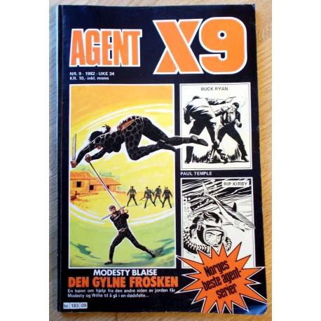Agent X9: 1982 - Nr. 9 - Den gylne frosken