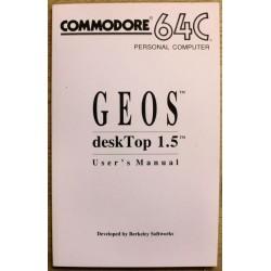 Commodore 64C: GEOS deskTop 1.5 User's Manual