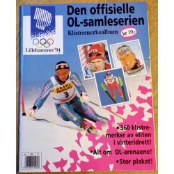 Lillehammer 1994 - Klistremerkealbum - Med stor poster!