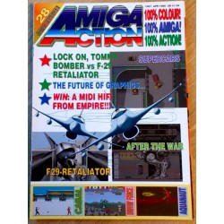 Amiga Action: 1990 - April - 28 games reviewed!