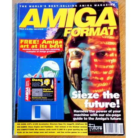 Amiga Format: 1993 - April - Nice to media