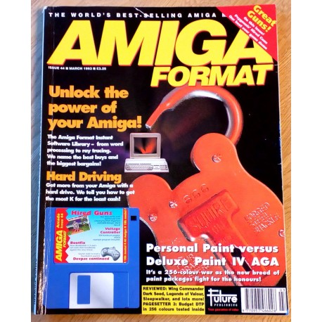 Amiga Format: 1993 - March - Amiga Power!