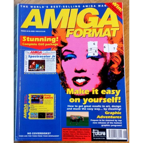 Amiga Format: 1992 - June - It's a swindle