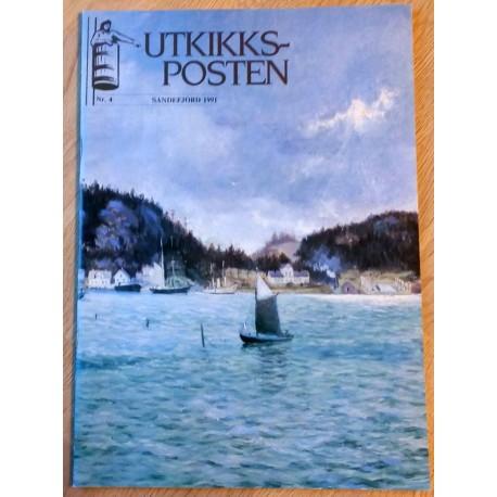 Utkikksposten: Sandefjord 1991 - Nr. 4