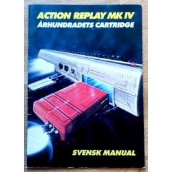 Action Replay MK IV - Århundradets Cartridge - Svensk manual