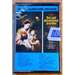 Jul med Sandefjord Jentekor (kassett)