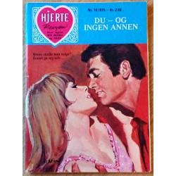 Hjerterevyen: 1975 - Nr. 10 - Du - og ingen annen