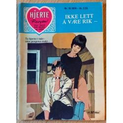 Hjerterevyen: 1974 - Nr. 15 - Ikke lett å være rik